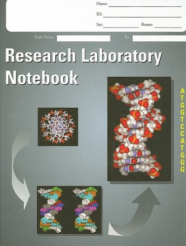 Laboratory Notebook, Research H/C   2005 edition cover