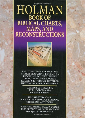 Holman Book of Biblical Charts, Maps and Reconstructions  N/A edition cover