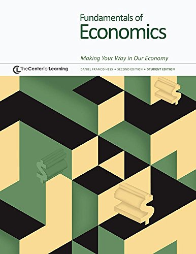 Fundamentals of Economics : Making Your Way in Our Economy -- Student Edition -- Grades 9-12  2001 (Student Manual, Study Guide, etc.) edition cover