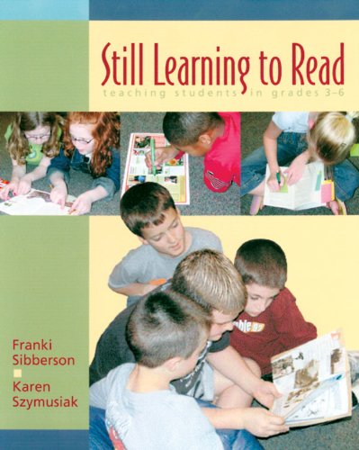 Still Learning to Read Teaching Students in Grades 3-6  2003 edition cover
