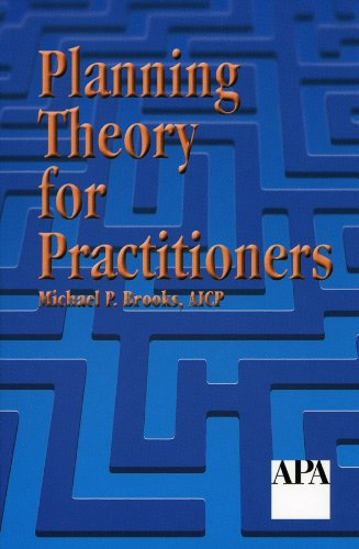 Planning Theory for Practitioners   2002 9781884829598 Front Cover