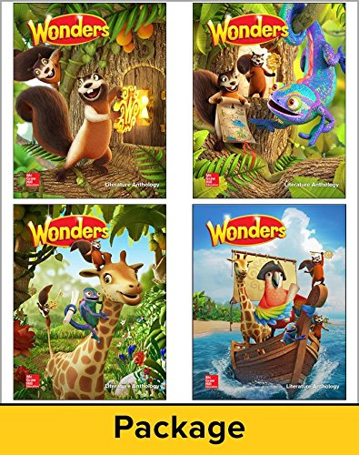 Wonders Literature Anthology Package, Grade 1   2017 9780021392599 Front Cover