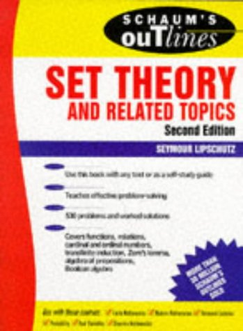 Schaum's Outline of Set Theory and Related Topics  2nd 1998 (Revised) 9780070381599 Front Cover