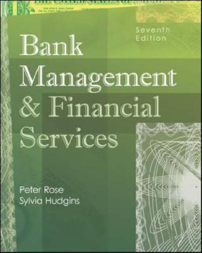 Bank Management and Financial Services  7th 2008 (Revised) edition cover
