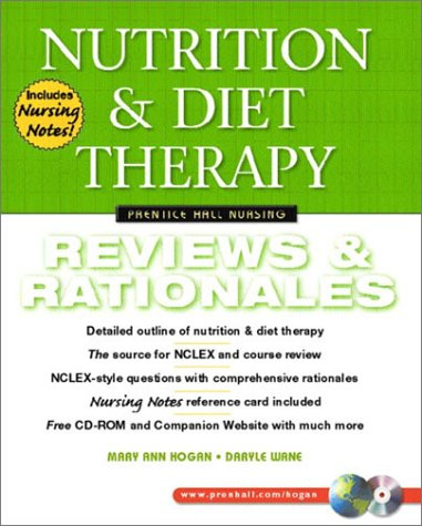 Nutrition and Diet Therapy Review and Rationales  2003 edition cover