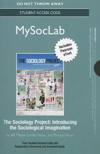Sociology Project Introducing the Sociological Imagination  2013 edition cover