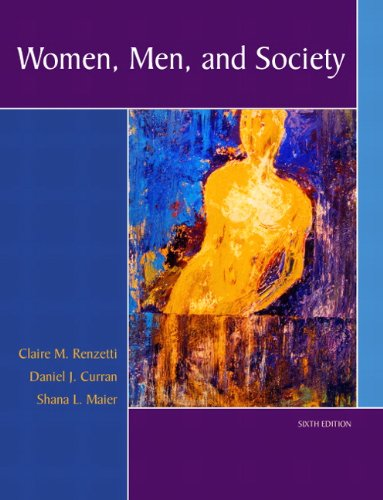 Women, Men, and Society  6th 2012 (Revised) edition cover