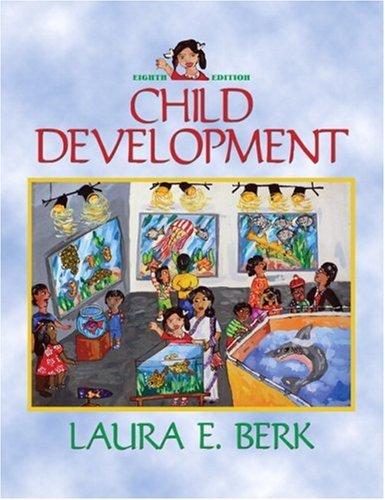 Child Development  8th 2009 edition cover