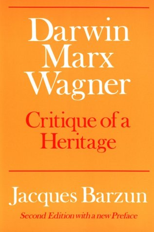 Darwin, Marx, Wagner Critique of a Heritage 2nd edition cover