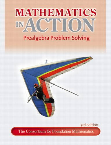Mathematics in Action Prealgebra Problem Solving 3rd 2012 (Revised) edition cover