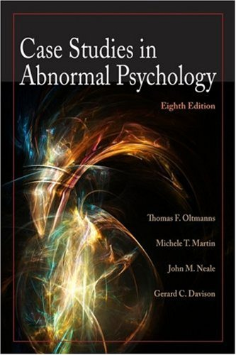 Case Studies in Abnormal Psychology  8th 2009 edition cover