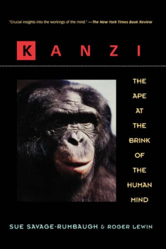 Kanzi The Ape at the Brink of the Human Mind  1994 edition cover