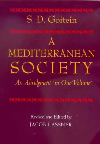 Mediterranean Society An Abridgment  1999 edition cover
