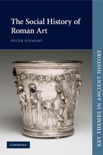 Social History of Roman Art   2008 9780521016599 Front Cover