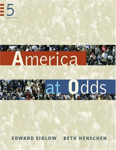 America at Odds  5th 2006 (Revised) 9780534647599 Front Cover