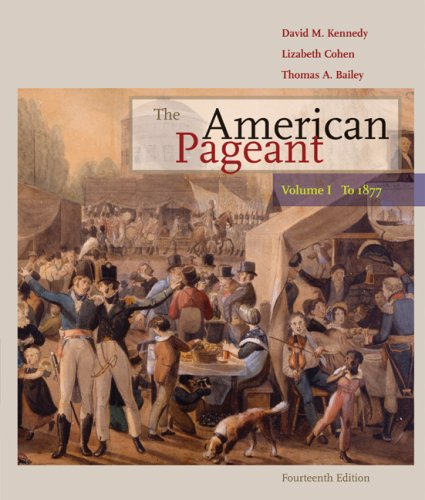 American Pageant - To 1877  14th 2010 edition cover