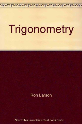 Trigonometry : A Graphing Approach 3rd 2001 9780618066599 Front Cover