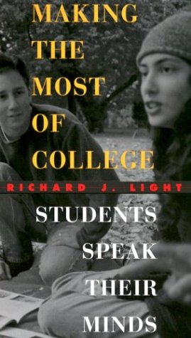 Making the Most of College Students Speak Their Minds  2001 edition cover