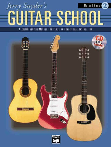 Jerry Snyder's Guitar School, Method Book, Bk 2   1999 edition cover