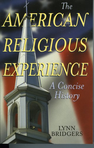 American Religious Experience A Concise History  2006 edition cover