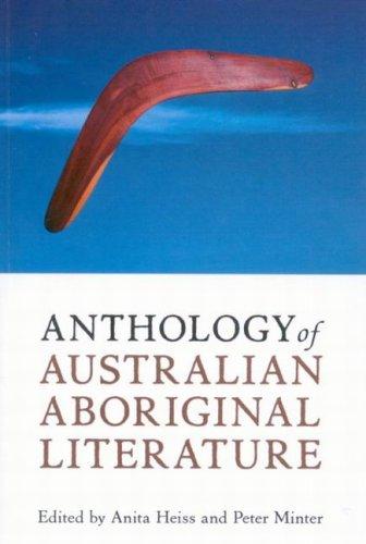 Anthology of Australian Aboriginal Literature   2008 edition cover