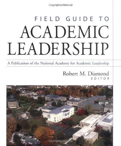 Field Guide to Academic Leadership   2002 edition cover