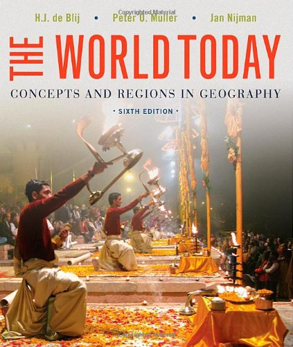 World Today Concepts and Regions in Geography 6th 2013 9781118411599 Front Cover