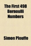 First 498 Bernoulli Numbers  2010 edition cover