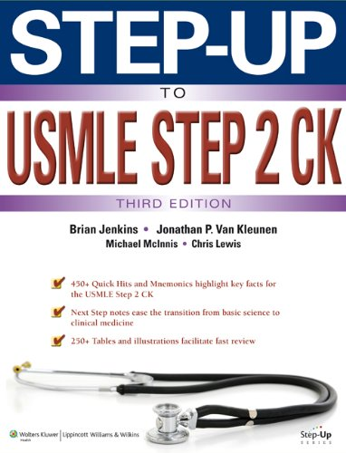 Step-Up to USMLE Step 2 CK  3rd 2014 (Revised) edition cover