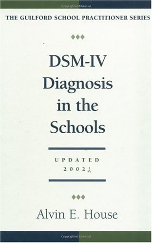 DSM-IV Diagnosis in the Schools  2nd 2002 (Revised) edition cover