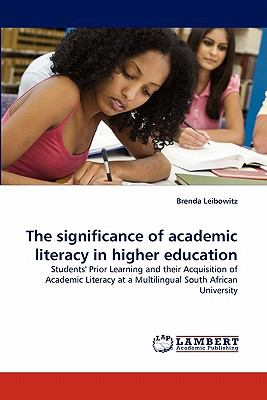 Significance of Academic Literacy in Higher Education  N/A 9783838364599 Front Cover