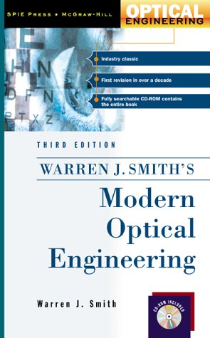 Modern Optical Engineering  3rd 2000 (Revised) edition cover