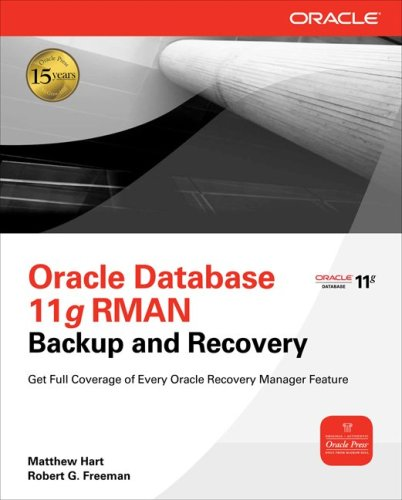 Oracle RMAN 11g Backup and Recovery   2010 edition cover