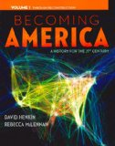 Becoming America, Volume I   2015 edition cover