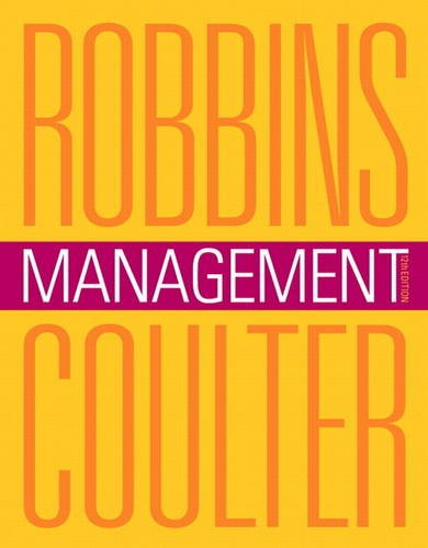 Management  12th 2014 9780133043600 Front Cover