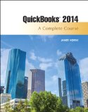 Quickbooks 2014 A Complete Course 15th 2015 edition cover