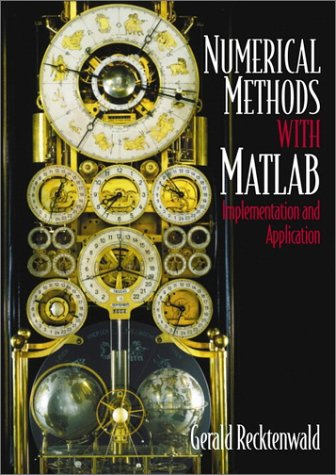 Introduction to Numerical Methods and MATLAB Implementations and Applications  2001 edition cover