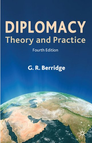 Diplomacy Theory and Practice 4th 2010 (Revised) edition cover