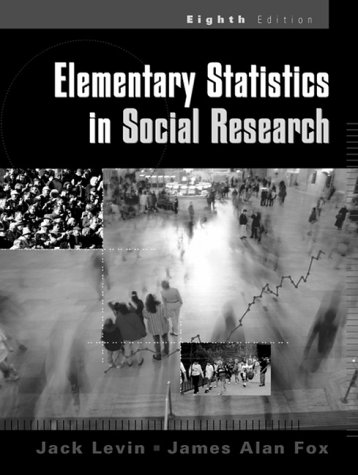 Elementary Statistics in Social Research  8th 2000 9780321044600 Front Cover