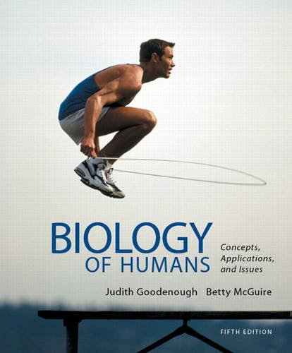 Biology of Humans Concepts, Applications, and Issues with Masteringbiology 5th 2014 edition cover