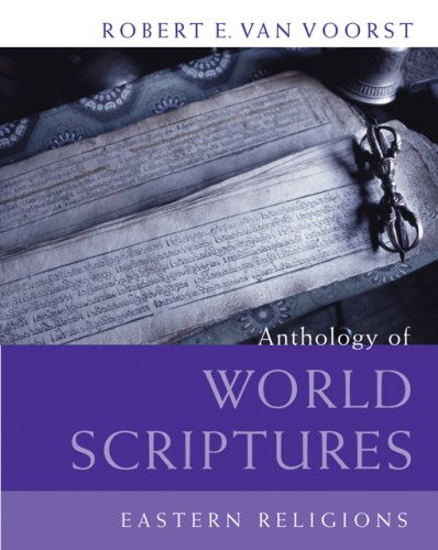 Anthology of World Scriptures Eastern Religions  2007 edition cover