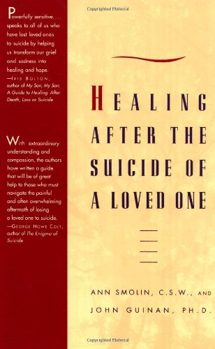 Healing after the Suicide of a Loved One   1993 edition cover
