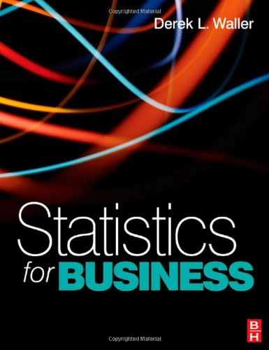 Statistics for Business   2008 9780750686600 Front Cover