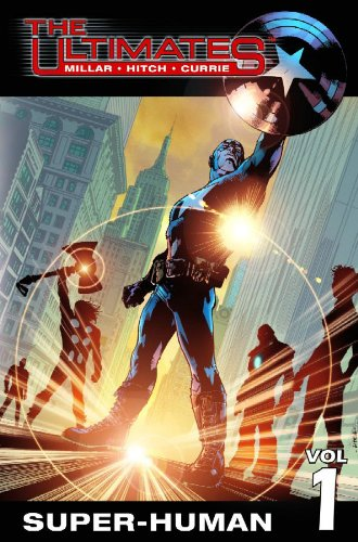 Ultimates - Super-Human   2002 edition cover