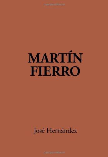 Martin Fierro  N/A edition cover