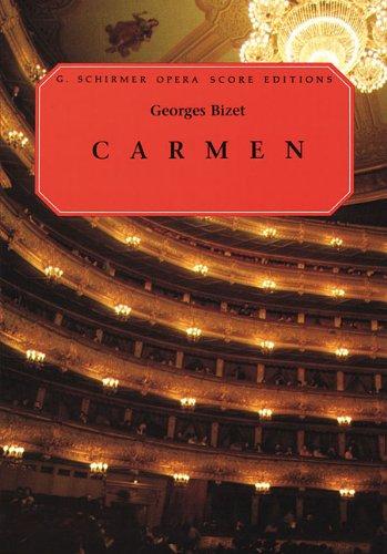 Carmen Vocal Score N/A edition cover