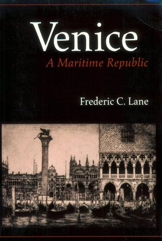 Venice A Maritime Republic  1974 edition cover