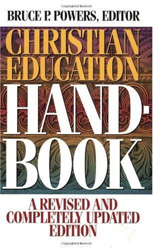 Christian Education Handbook   1996 edition cover