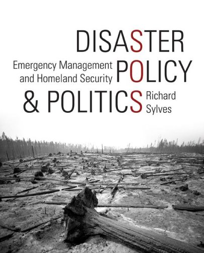 Disaster Policy and Politics Emergency Management and Homeland Security  2008 (Revised) edition cover