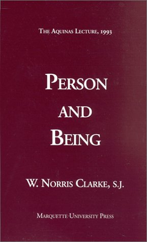 Person and Being   1993 edition cover